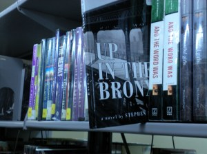 Hey! There's Up in the Bronx on the shelves at the Los Angeles Public library