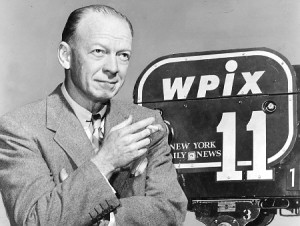 Red Barber celebrating his 30th year as an announcer, his 26th in sports